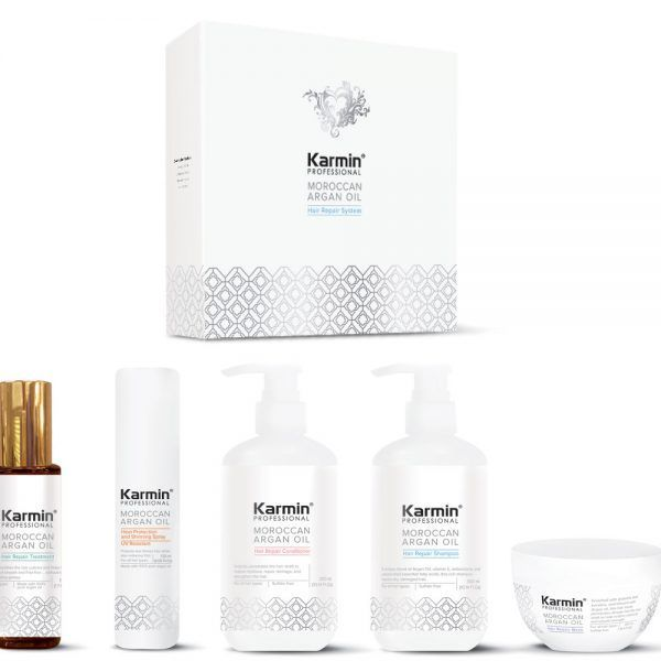 Karmin 4 Step Hair Repair & Smoothing System