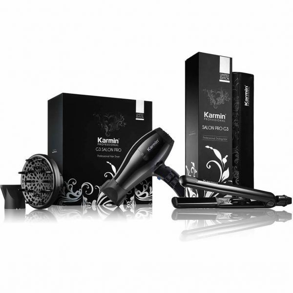 Karmin G3 Salon Pro Hair Dryer & G3 Hair Straightener Combo